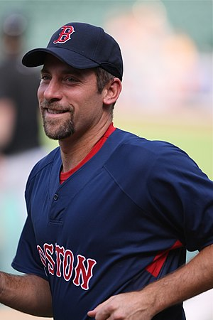 John Smoltz - Smoltz with the Boston Red Sox