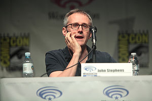 John Stephens (TV producer) - John Stephens at WonderCon 2015
