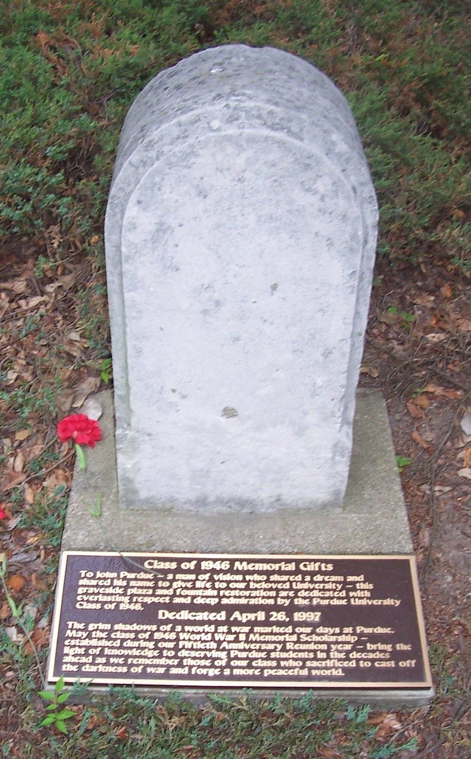 John purdue grave