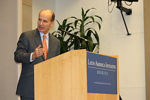 Brookings Institution - José María Figueres, former President of Costa Rica, speaking at Brookings Institution