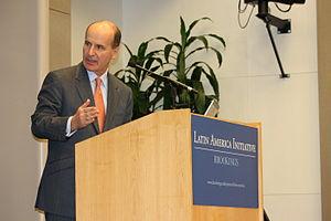 Brookings Institution - José María Figueres, former President of Costa Rica, speaking at Brookings Institution