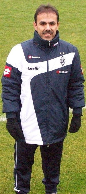 FC Augsburg - Former Augsburg manager Jos Luhukay, pictured here while at Borussia Mönchengladbach