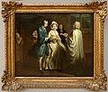 Joseph highmore, sei scena dalla pamela di samuel richardson, IX, pamela si sposa, 1743-44.jpg