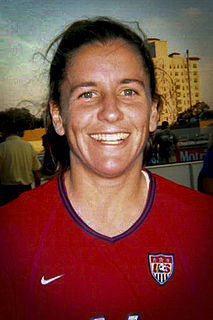 Joy Fawcett American soccer player