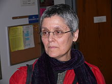 "Prof. Judy Roitman during the conference ""Boise Extravaganza in Set Theory BEST 17"" in Boise, Idaho on March 2008"