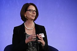 Julia Gillard, July 2016