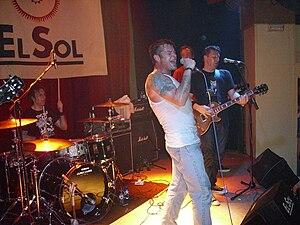 Junkyard (band) - Junkyard in Madrid, 2008.