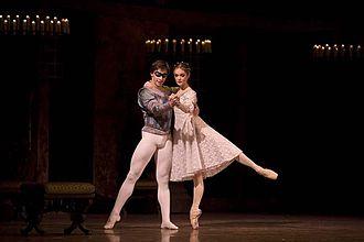 Jurgita Dronina - Jurgita Dronina and Olaf Kollmannsperger in Romeo and Juliet (2007)