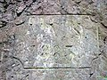 Königswinter Drachenfels Aufstieg Treppe Inschrift.jpg