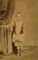 KITLV 179792 - Kassian Céphas - Studio Portrait of a European child in Java - Around 1880.tif