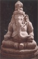 KITLV 87796 - Isidore van Kinsbergen - Sculpture of Ganesha in a museum at Yogyakarta - Before 1900.tif