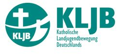 Cross and plough - logo of KLJB
