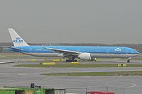 PH-BVG - B77W - KLM
