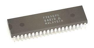 Fairchild F8 8-bit microprocessor