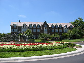 University of Kansas - Chi Omega Fountain