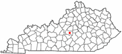 Location of St. Mary within Kentucky