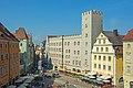 Kaiserherberge Goldenes Kreuz Regensburg Haidplatz 7 D-3-62-000-543 04.jpg