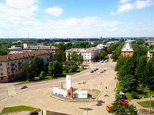 Velikiye Luki - Kalinina Square