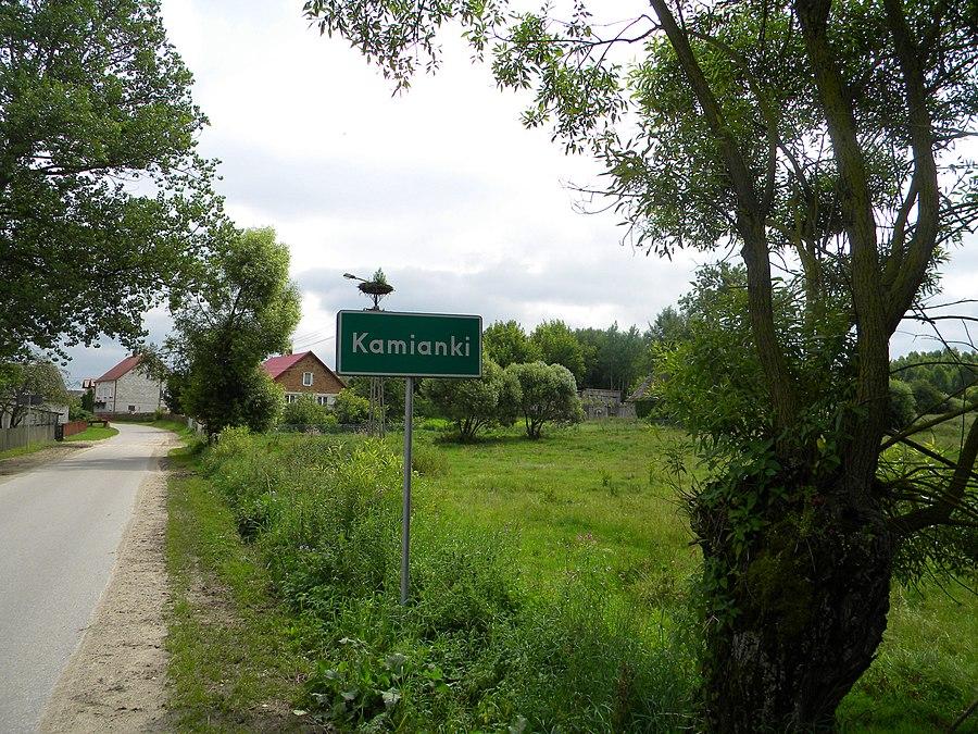 Kamianki, Łomża County
