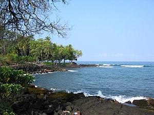 Holualoa Bay - Kamoa Point on Hōlualoa Bay