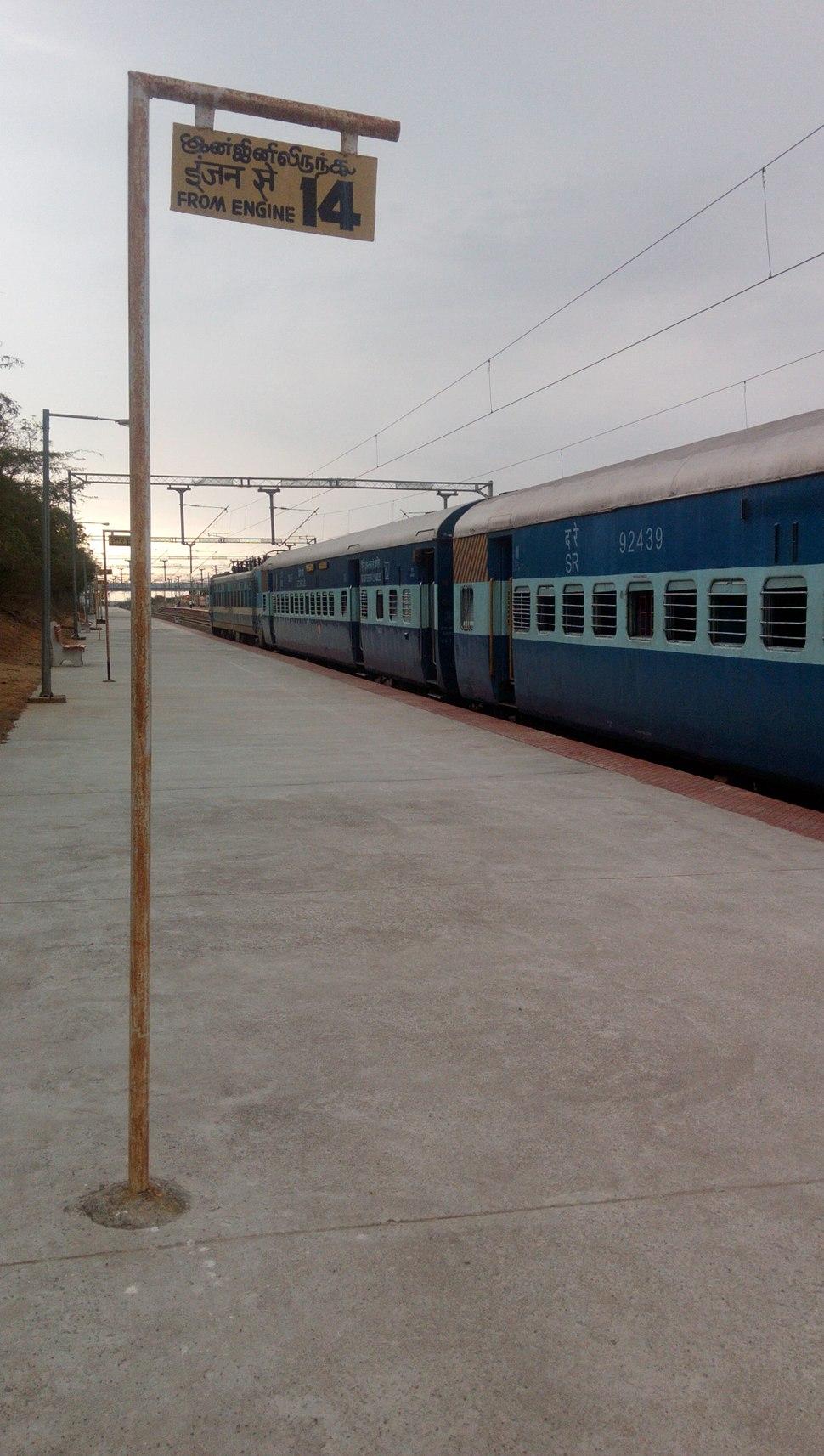 Kanyakumari Tirunelveli Passenger