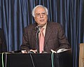 Kapil Sibal addressing at the inauguration of the two labs Specific Absorption Rate (SAR) lab and Next Generation Network (NGN) lab, in New Delhi on January 21, 2013.jpg