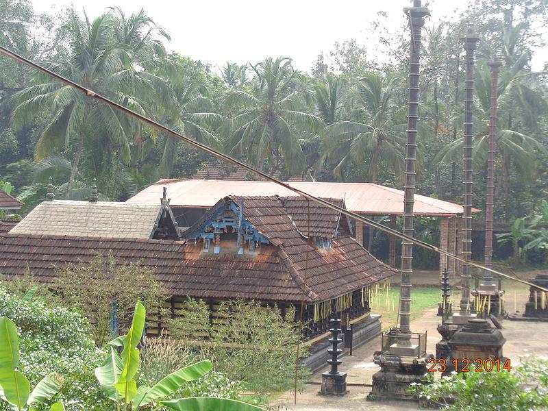 File:Karikkkad subrahmanya temple- a view of ayyappa temple from south.JPG
