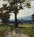 Karl Buchholz - Sommerliche Landschaft bei Hohenpeißenberg.jpg