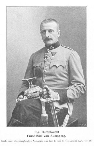 Karl Maria Alexander von Auersperg - Image: Karl von Auersperg 1902 Grillich