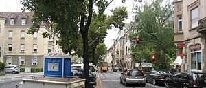 Bundesstraße 10 - Image: Karlsruhe Rote Taube