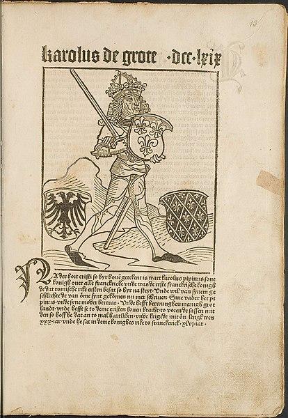 Karolus de Grote in Cronecken der Sassen