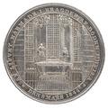 Kastpenning från Karl XIV Johans begravning, 1844 - Livrustkammaren - 100567.tif
