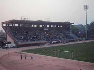 Three Star Club - The Dasarath Rangasala Stadium, where the club plays its home matches