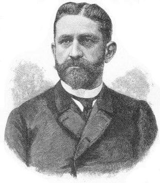 Georges Ernest Boulanger - Portrait of General Georges Boulanger