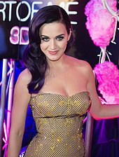 Perry at the Australian premiere of Katy Perry: Part of Me