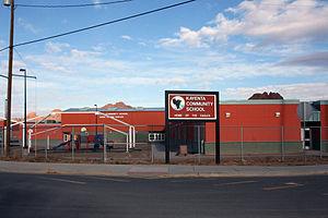 Kayenta, Arizona - Image: Kayentacomschool