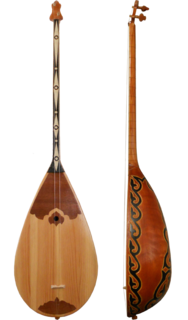 Dombra musical string instrument