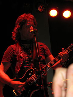 Kee Marcello Swedish musician and guitarist of the band Europe