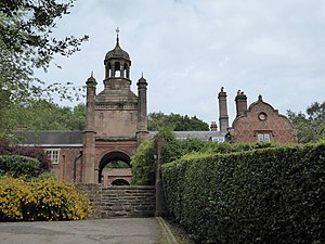 Keele University - Keele University Clock House
