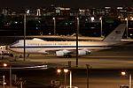 """Ken H. 'Jade03' - USAF E-4B """"Nightwatch"""" at Spot V1(Close-up). (5356476609).jpg"""