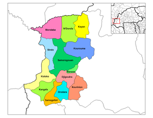 Kenedougou departments.png