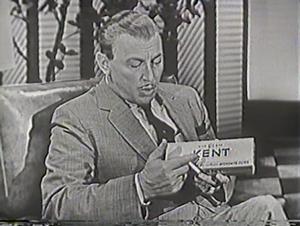 Kent (cigarette) - 1950s U.S. television advertisement
