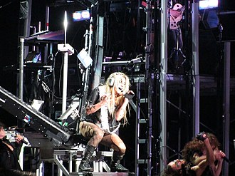 """Blow (Kesha song) - Kesha performing """"Blow"""" on the Get Sleazy Tour"""