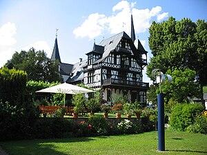 Kiedrich - former villa of John Sutton and now Robert Weil wine estate
