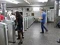 Kievskaya stations entry, turnstiles (Вход на станции Киевская, турникеты) (4982328668).jpg