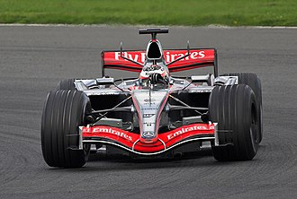 Northamptonshire - Silverstone adds millions every year to the local economy - Kimi Räikkönen testing for McLaren at Silverstone in April 2006