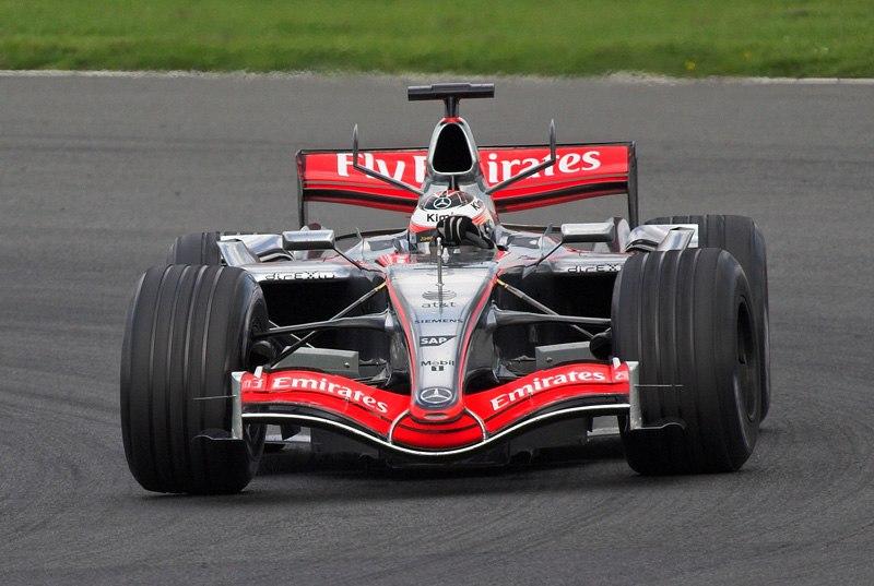 Kimi Raikkonen 2006 test