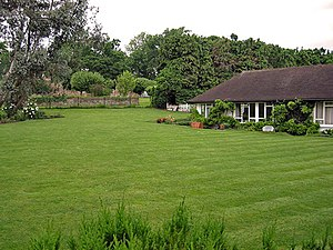 "Wah-Wah (song) - Harrison's Surrey home, Kinfauns, where he wrote ""Wah-Wah"" immediately after leaving the Beatles"