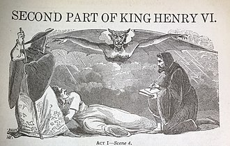 Henry VI, Part 2 - A Lithograph depicting Act I Scene IV