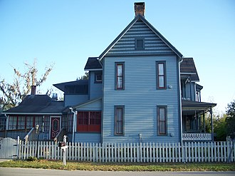 National Register of Historic Places listings in Union County, Florida - Image: King House Lake Butler 04